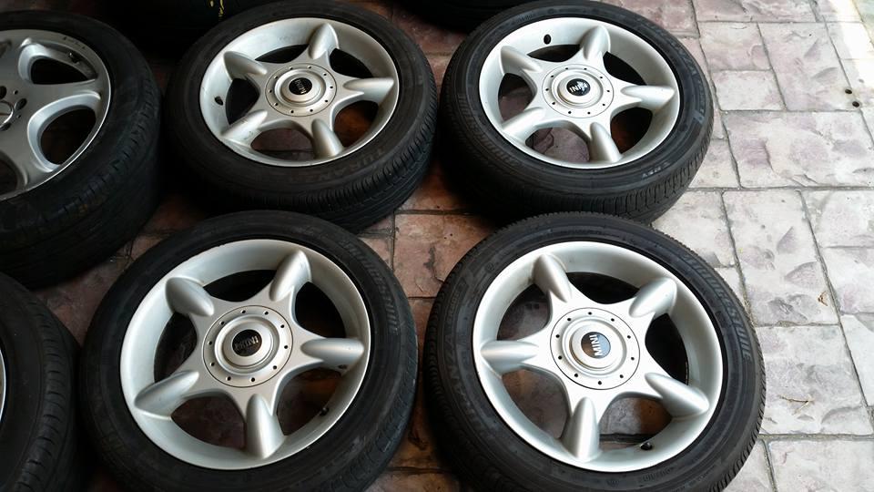 ล้อแท้ MINI Cooper  16 -  แม็กมือสองรถยนต์ คัดสรรแต่ของดี มีคุณภาพ ราคาเป็นกันเอง                                                                                                                                                                                                          ล้อแม็กมือสอง