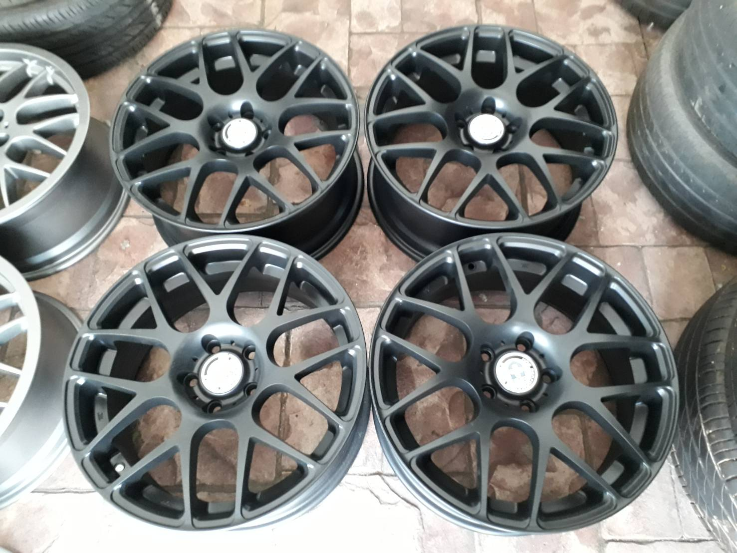 "ล้อ HRE  P40  18 ""  for Benz"