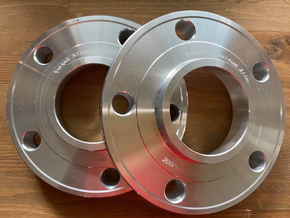 Spacer BMW 5x120 cb72.6  หนา 20mm. Aluminum Forged  6061 T6