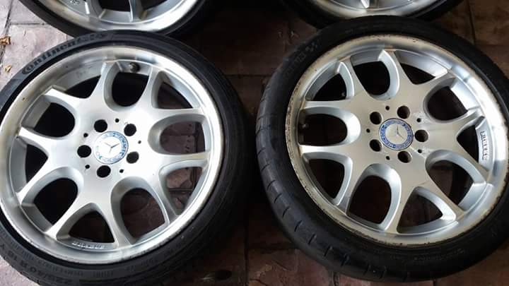 "Brabus block 5 ขอบ18""  by Ronal made in germany"