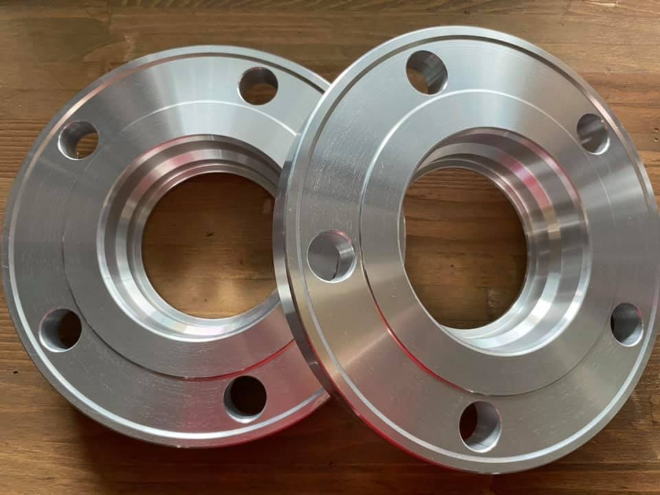 Spacer BMW 5x120 cb72.6 หนา 15mm.  Aluminum Forged 6061-T6